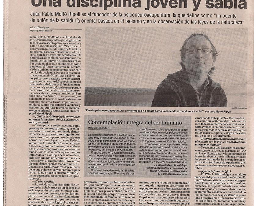 «Una disciplina joven y sabia»