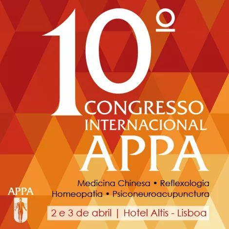 10º Congreso de Medicina China y PsicoNeuroAcupuntura. APPA.
