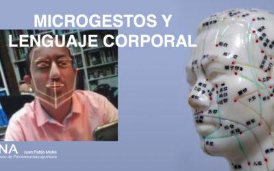 Sinergología, Morfopsicología y microgestos en la acupuntura.