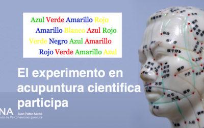 Experimento sobre acupuntura científica.