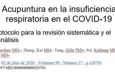 Acupuntura en la insuficiencia respiratoria en el COVID-19