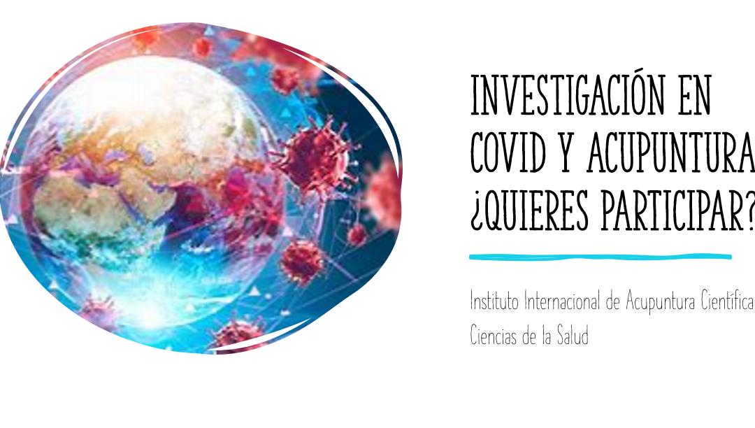 Investigación en COVID y Acupuntura