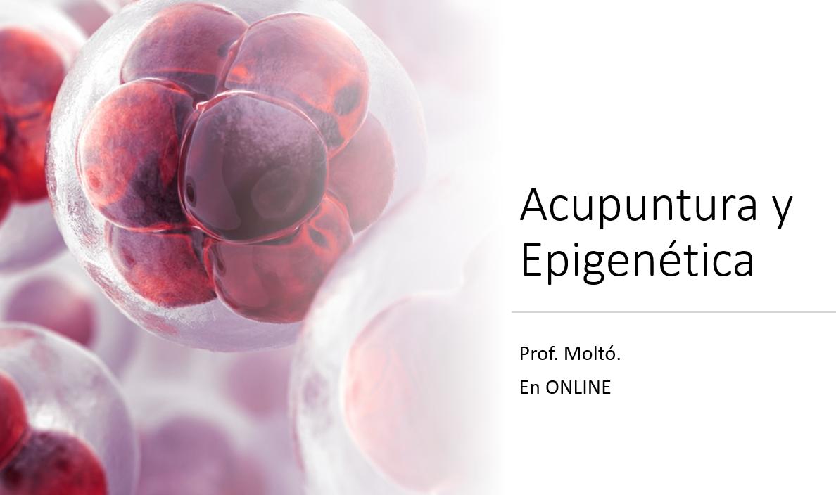 Acupuntura y epigenética